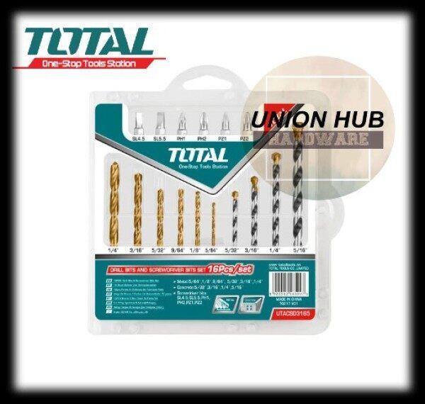 Total 16pcs drill and screwdriver bit set-(TACSD3165)