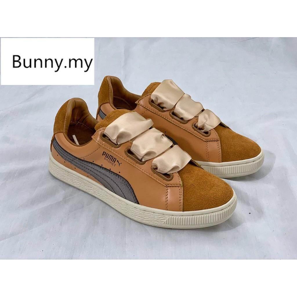 Brand ★★ IN STOCK Pumas Basket Platform women sneaker running shoes size:36-39