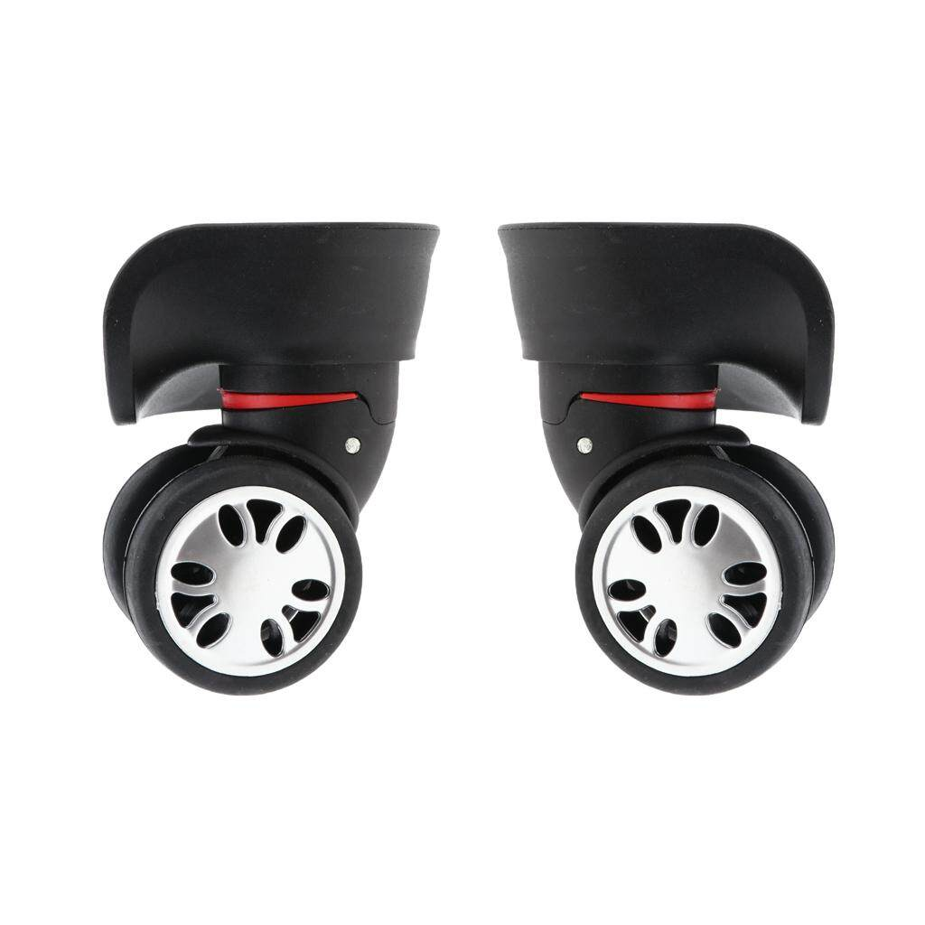 ec7ba7f29a73 Gazechimp 1 Pair Universal Luggage Wheels Replacement for Suitcases Casters  Replacement Trolley Rollers - Repair Accessories Easy Installation and ...