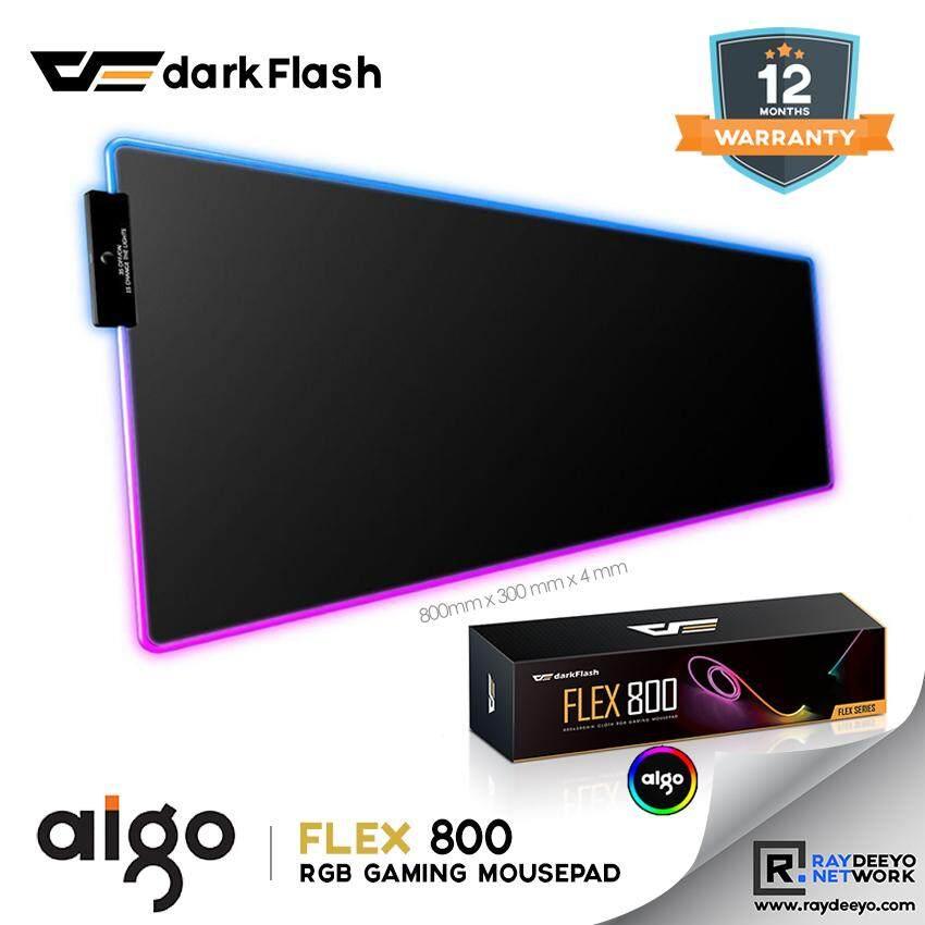 Aigo darkFlash Flex 800 RGB Gaming Mousepad [Non-Slip Base] Malaysia