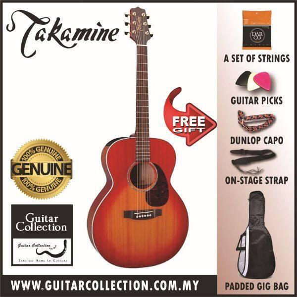 TAKAMINE EG430S-VV | SOLID CEDAR TOP | SEMI ACOUSTIC GUITAR | TP-4T PREAMP (FREE STRINGS, PICKS, CAPO, STRAP & BAG) Malaysia