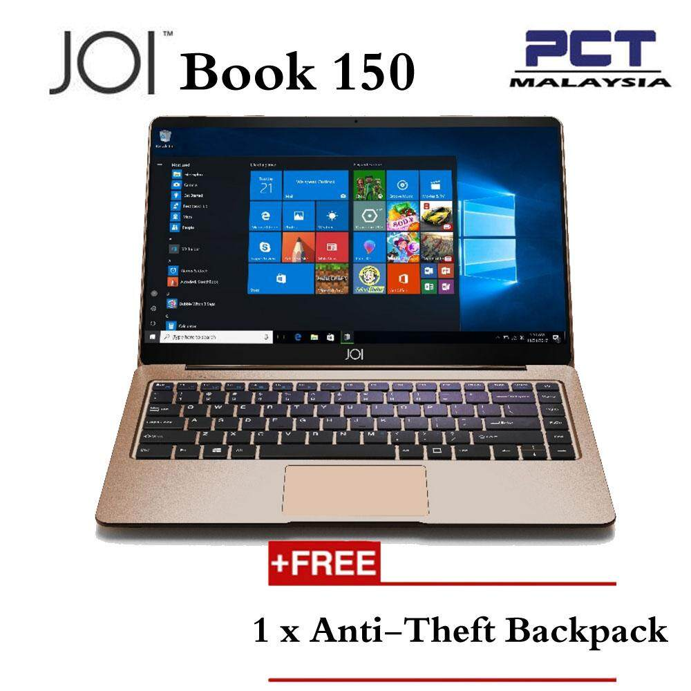 JOI Book 150 14.1 FHD IPS  ( N4100, 4GB, 32GB+128GB, Intel, W10H ) - Rose Gold Malaysia