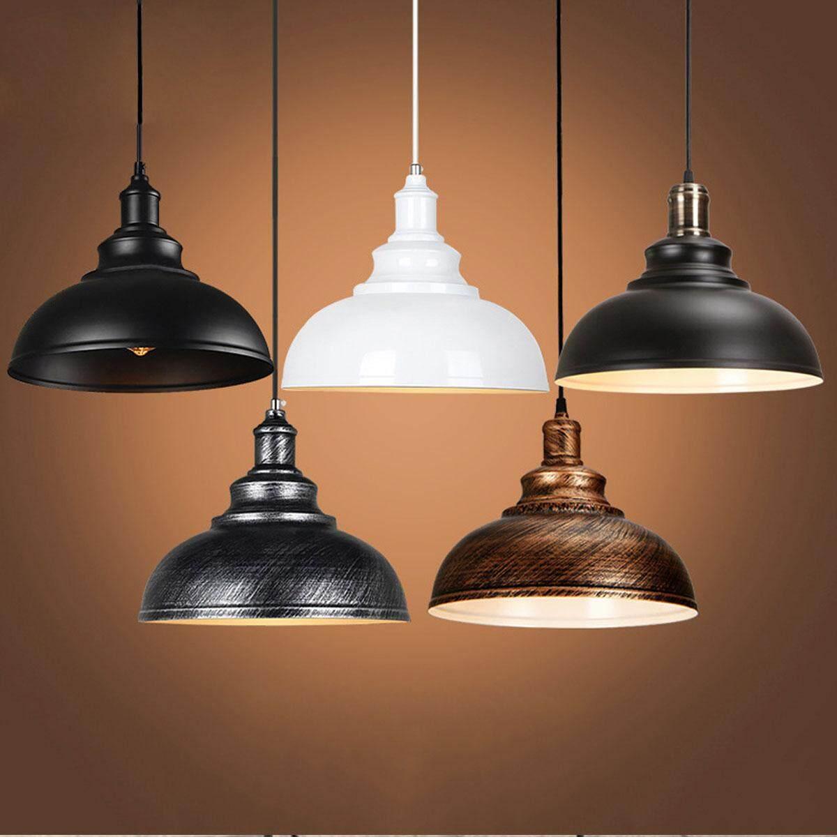 【Free Shipping + Flash Deal】Retro Fixture Ceiling Light Vintage Pendant Lamp Industrial Loft Iron Chandelier