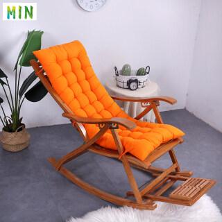 MIN Lounger Cushion, Đệm Ghế Cao Thay Thế Mềm Với Dây Đeo Cố Định Đệm Ghế Bập Bênh Lớn Cho Sân Trong 120 48Cm thumbnail