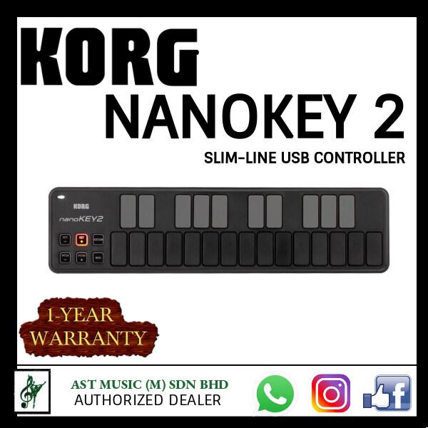 Korg nanoKEY2 - SLIM-LINE USB KEYBOARD (25 keys) Malaysia