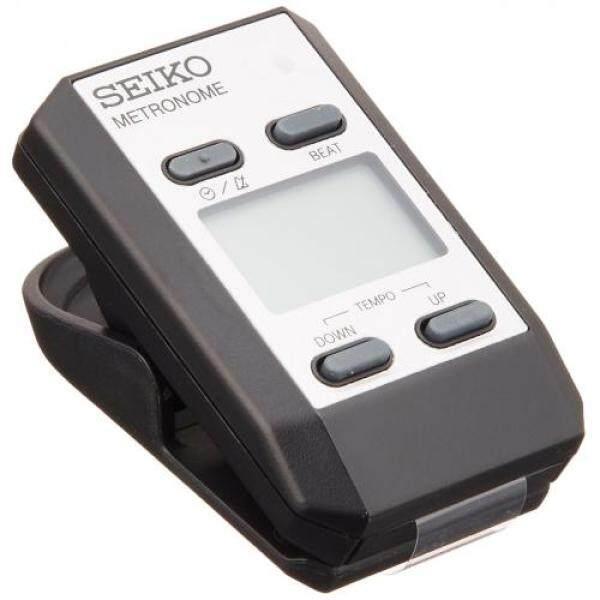 SEIKO Seiko metronome clip type digital silver DM51S Malaysia
