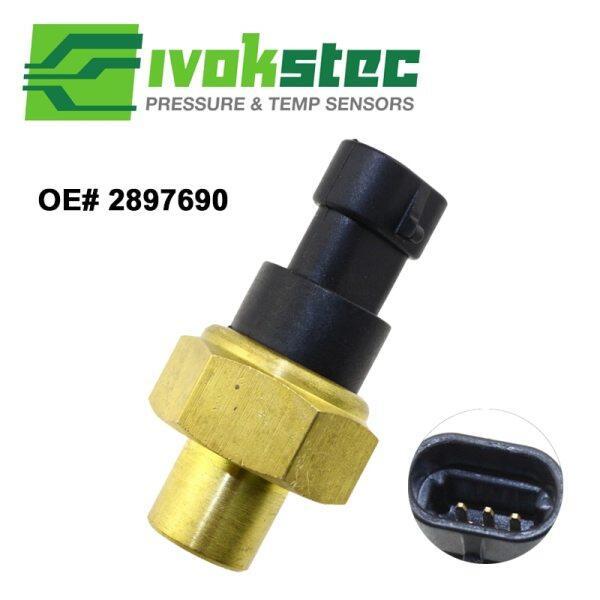【Original】Oil Fuel Pressure Temperature Sensor switch For Cummins KTA19 KTA-19 KT50 2897690 3408606 3054615