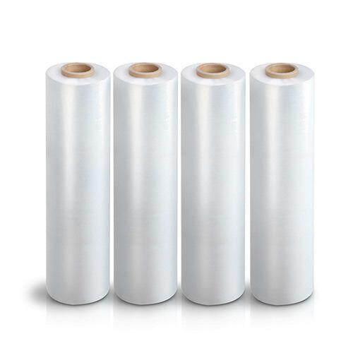 4 ROLL x Transparent Wrapping Stretch Film 500MM (W) X 1.8KG