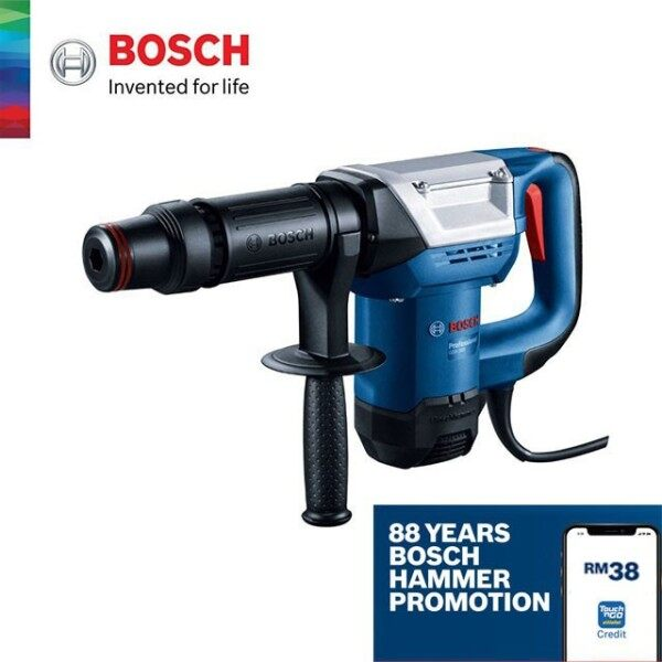 BOSCH GSH 500 Gen II Professional Demolition Hammer Breaker with Hex - 06113386L0
