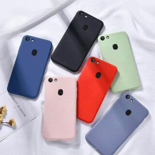 Thinmon Dành Cho OPPO A73 OPPO F5 Ốp Điện Thoại Silicon Lỏng Vỏ Bảo Vệ Siêu Mỏng Cảm Giác Thoải Mái Vỏ Mềm thumbnail