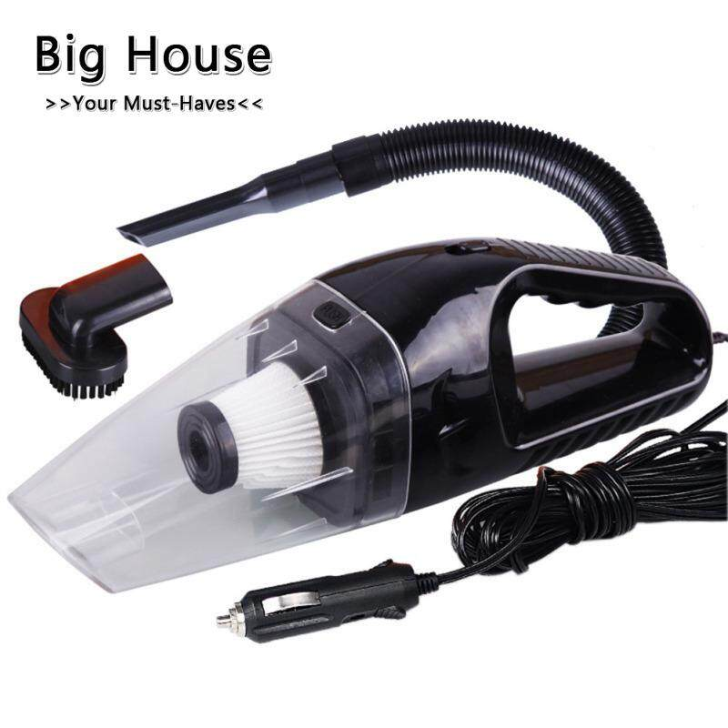 Big House 12V 120W High Power Car Vacuum Cleaner Wet and Dry Multi-Function Vacuums