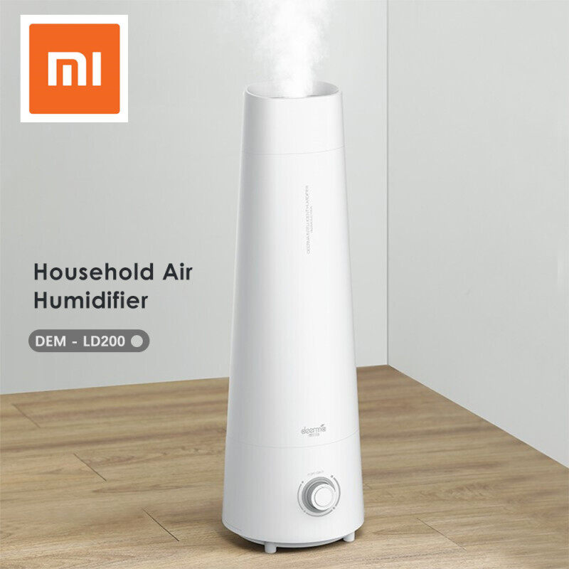 Newest Xiaomi Deerma DEM-LD200 4L Air Humidifier Cool Mist Aromatherapy Mute Air Diffuser Purifier Low Noise For Bedroom Singapore