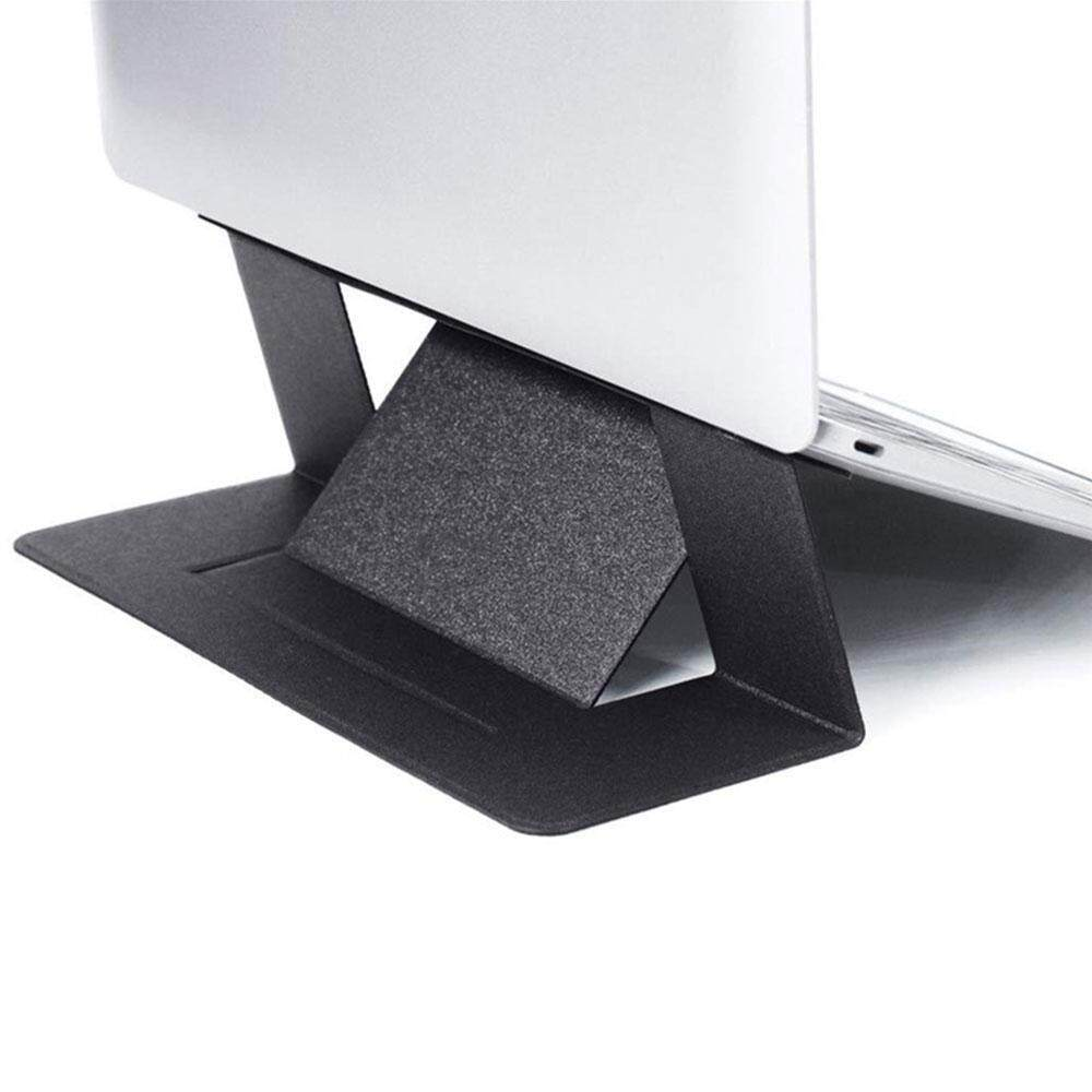 GoodGreat Portable Laptop Stand, Upgraded Version Invisible Laptop Holder, Foldable Notebook Holder for Office Desk, Car, Bed