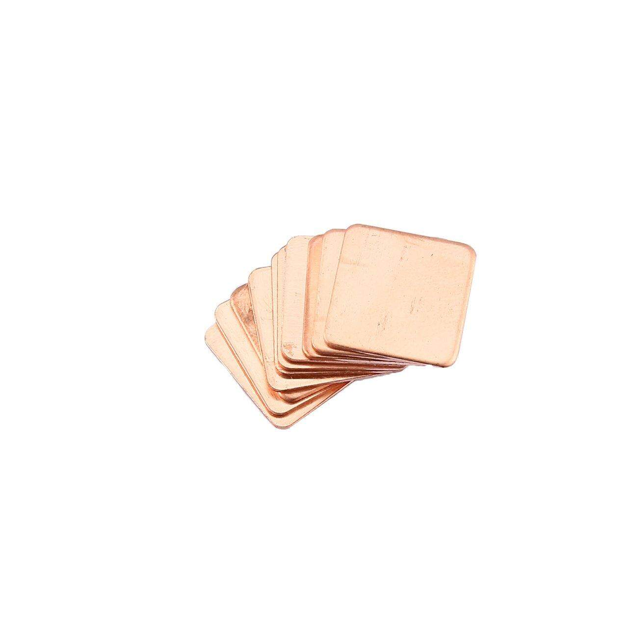 Hot Sales 10pcs 0.8mm Pure Copper Heatsink Shim Thermal Pad for Laptop Graphics Card
