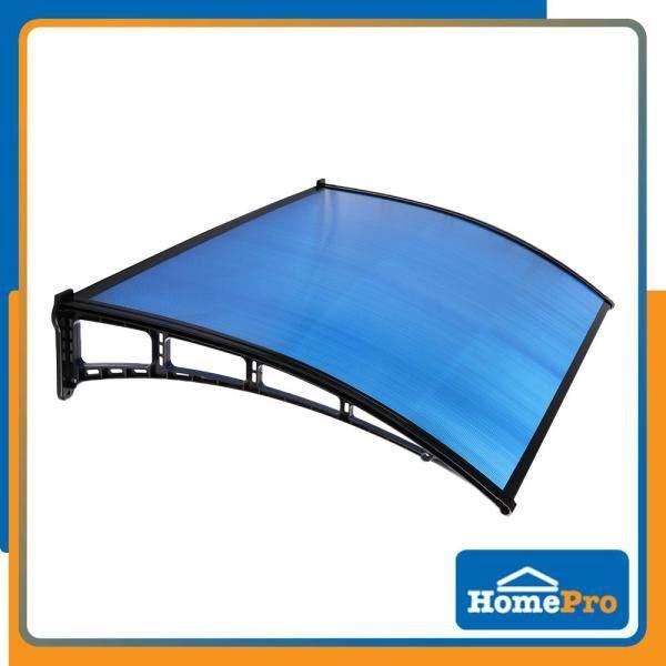 SUNSHIELD AWNING POLYCARBONATE W60xL100xD9 CM BLUE