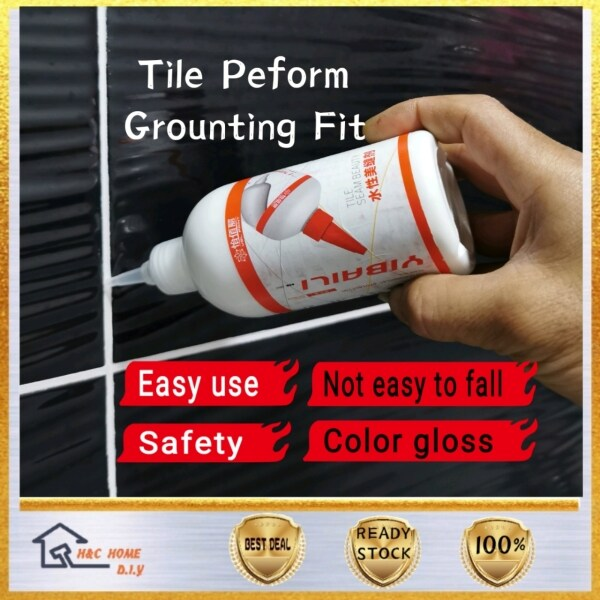 Easy Use🇲🇾 DIY Tile Reform Grouting Fix Waterpoof 280ml Anti~Fungus