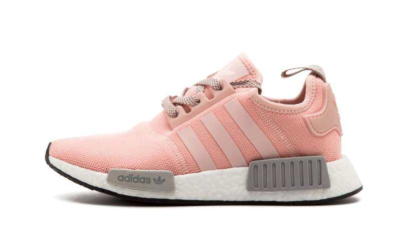 ADIDAS_NMD_R1_Women_Real_Boost_BY3059_Pink_Grey_Gym_Sport_Running_Shoes
