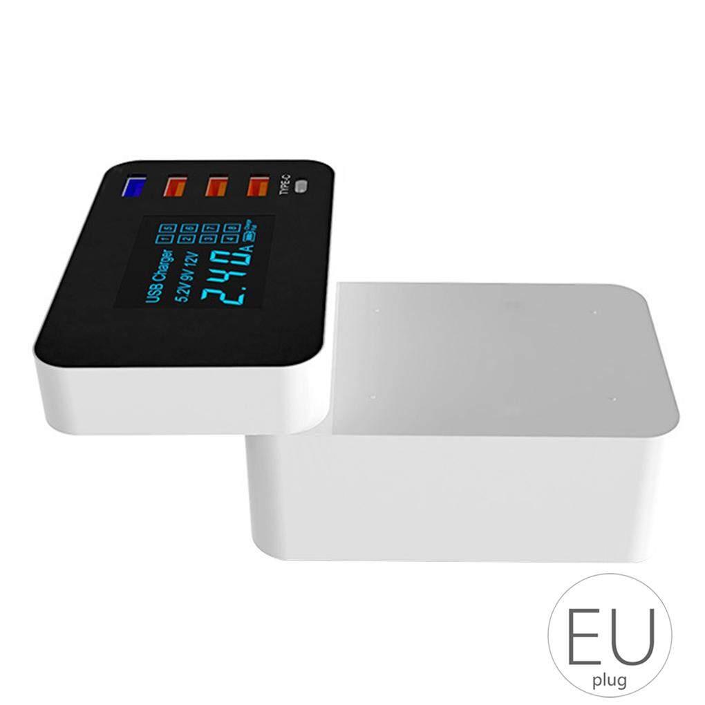 Điện Thoại di động Sạc Nhanh USB3.0 Sạc 5 Cổng QC3.0 Sạc Điện Thoại Thông Minh Màn Hình Hiển Thị LED Thay Thế cho Iphone