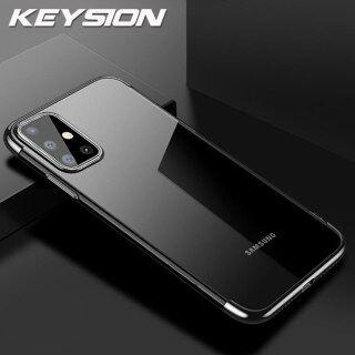 Vỏ Mạ Phím, Dành Cho Samsung A51 A71 A70S A50S 20S 10S A50 Ốp Điện Thoại Silicon Trong Suốt A70 A40 Dành Cho Galaxy M20 M30S M40S thumbnail