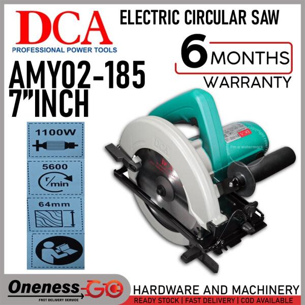 DCA ELECTRIC CIRCULAR SAW 7 - AMY02-185 / M1Y-FF02-185
