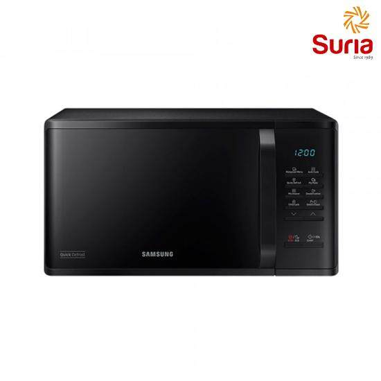 SAMSUNG 23L SOLO MICROWAVE OVEN WITH QUICK DEFROST SAM-MS23K3513AK/SM