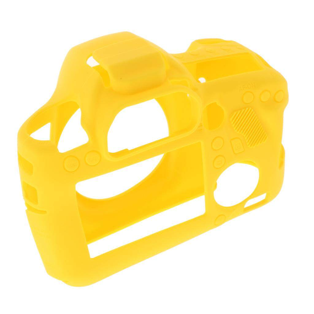 Miracle Shining Soft Silicone Case Skin Camera Protective Body Cover for Canon EOS 6D