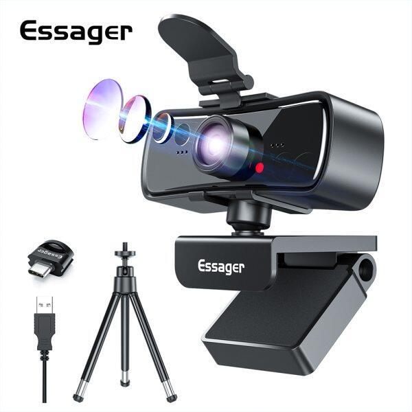 Bảng giá Webcam Essager C3 1080P Full HD Cho PC Máy Tính Máy Tính Xách Tay USB Web Cam Với Microphone Tự Động Lấy Nét WebCamera Cho Youtube Phong Vũ