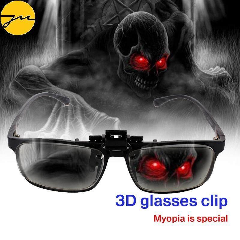 JMS 3D Kính Hình Tròn Phân Cực 3D Kính Mắt Đa Năng Di Động 3D Treo Kẹp Phân Cực ABS Phân Cực Tròn DVD Phim Video Bộ Phim Theatre Cùng Giá Khuyến Mãi Hot