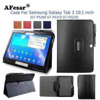 Ốp Lật Thông Minh Cho Samsung Galaxy Tab 3 10.1 Gt-P5200 Ốp Thông Minh Bằng Da PU Cho Máy Tính Bảng P5210 Có Nam Châm Tự Động Ngủ Thức Dậy thumbnail