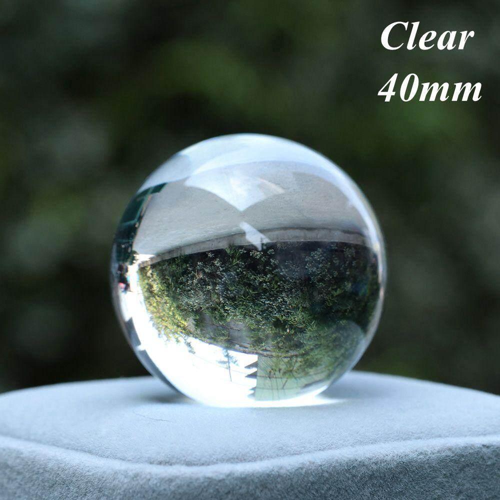 Natural Quartz Stone Sphere Fluorite Crystal Ball Healing Gemstone Home Decor