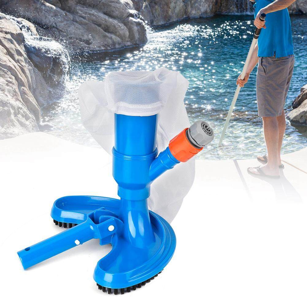 Swimming Pool Vacuum Brush Maintenance Kit Cleaner Tool Set