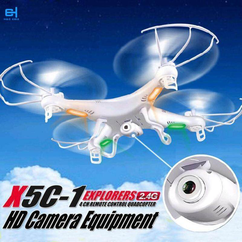 4ch With Camera 2.4ghz Uav Quadcopters X5c-1 Rc Quadcopter With Camera Camera Rc Camera Rc Flying Toys Airplanes & Helicopters Eletronic Toys Radio Control & Control Line Toy Plane Hd Camera By H&c Ebiz.