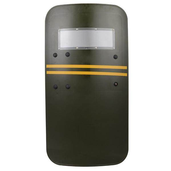 Plastic Military Tactical Anti-Riot Law Enforcement Police Shield Protection - green