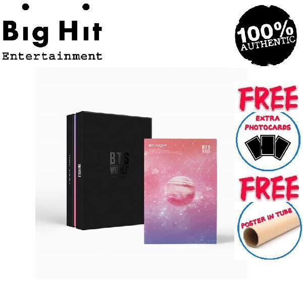 [PRE ORDER 5-10 DAYS] BTS - ALBUM - BTS WORLD OST ( CD + POSTER IN TUBE +  PHOTOBOOK + PHOTOCARD + GAME COUPON + LENTICULAR )
