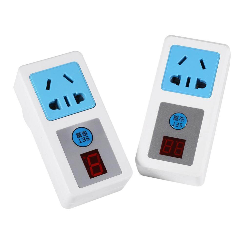 1 Pcs 9/24 Jam Listrik Time Switch AC 220 V Hemat Energi Stopkontak Alat Penghitung Waktu Elektronik Rumah Tangga Digital Waktu-Switch