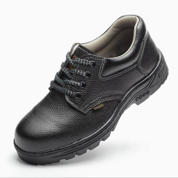 Buy 1 Get 1 Free Safety Shoes Mens and Womens Steel Toe-protection Safety Work Shoes Anti-smashing Puncture-resistant Wear-resistant Stink-free Breathable Work Shoes