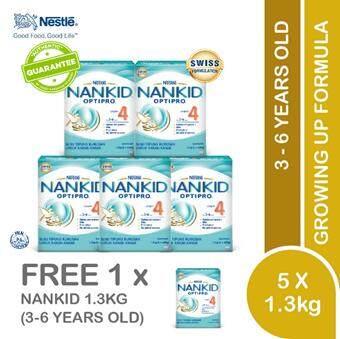 Nankid Optipro4 (2x650g)x6 By Lazada Retail Nankid.
