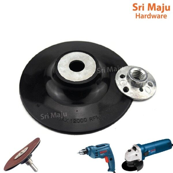 MAJU M10 Black Backing Pad for Abrasive Sand Sanding Paper Disc for GWS060 Stanley