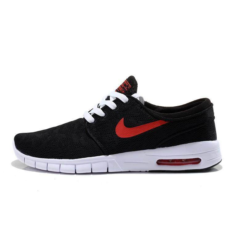 newest 18335 58341 Nike SB Stefan Janoski Max Black And Red Men And Women388