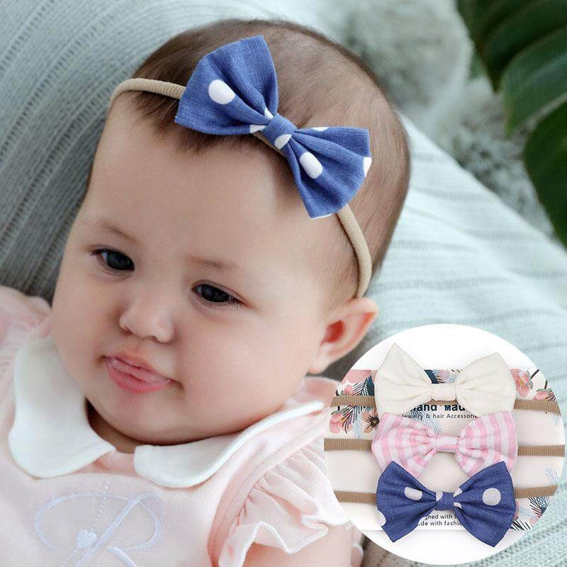Baby Girl Headbands Bows flowers,10 Pack Hair Accessories for Newborn Infant ...