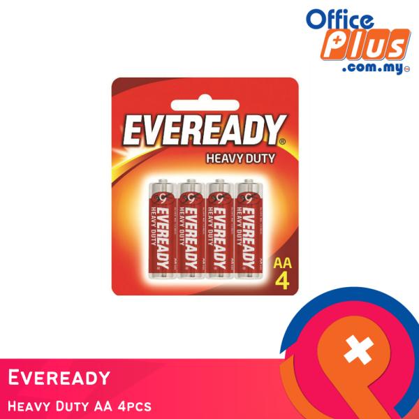Eveready Heavy Duty AA 4pcs