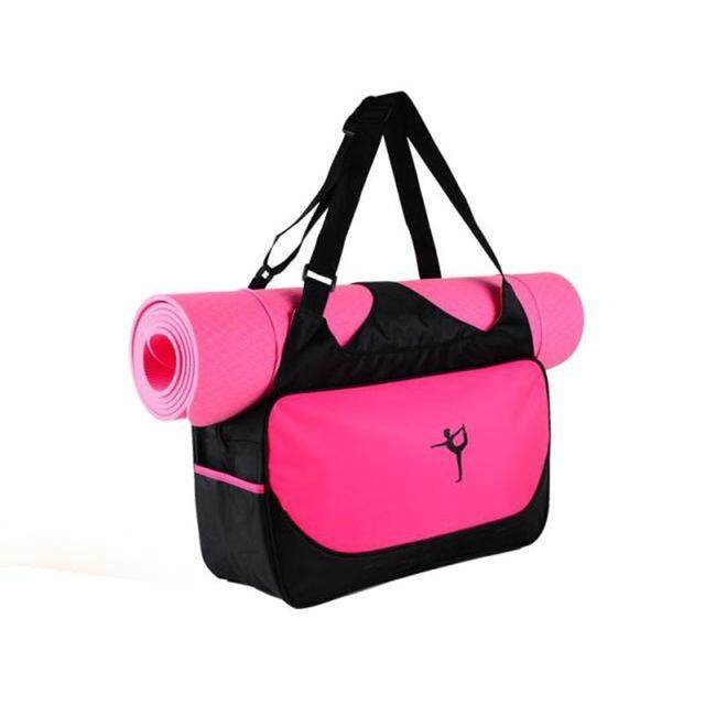 3441df484c Multifunctional Waterproof Clothes Backpack Yoga Mat Bag Women s Pilates  Fitness Shoulder Bag Gym Case Bag(