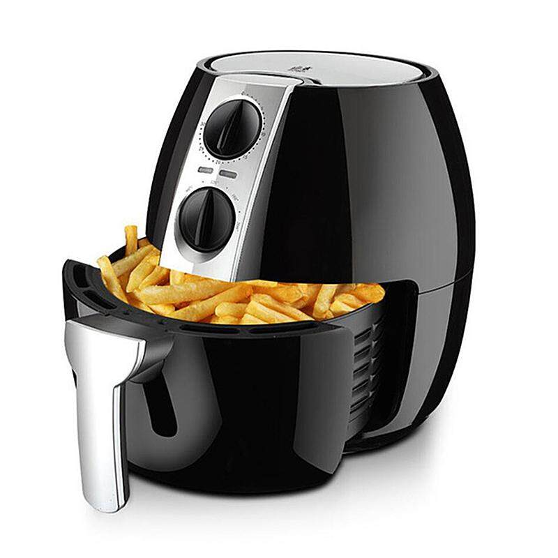 220v 4.5l Intelligent Electric Deep Fryer Oil Free Smokeless French Fries Machine Electric Air Fryer Non-Stick For Home Using By Colorful Oceans.