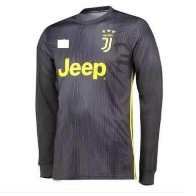 brand new c2bb4 27882 Juventus Third 3rd 2018/19 Long Sleeve Jersey for Men (Cristiano Ronaldo /  Paolo Dybala / Juan Cuadrado)