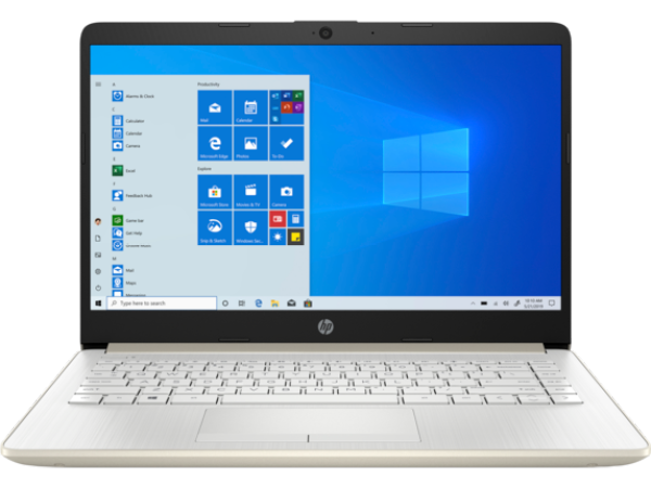 HP 14s-cf3042tu /14s-cf3043tu  i3-1005G1 / 4GB / 256GB SSD / Windows 10 / 14-inch Notebook Gold Malaysia