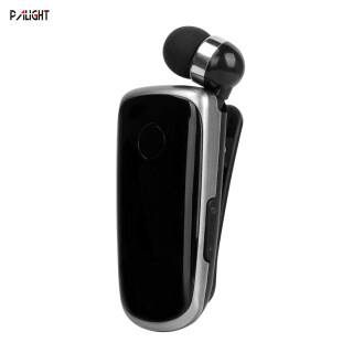 Tai Nghe Bluetooth PAlight Kẹp Cổ Áo, Tai Nghe Mini Dành Cho Doanh Nhân Tập Luyện Lái Xe-Intl thumbnail