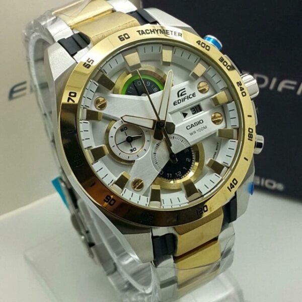 New Promo Casio_Edifice Stainless Steel Strap Fashion Men Watch All Function Malaysia