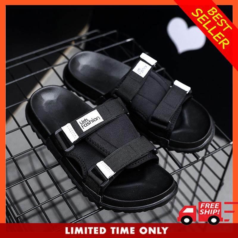c49f0d37d CLZQ Men Shoes Solid Flat Bath Slippers Summer Sandals Indoor & Outdoor  Slippers Casual Men Non
