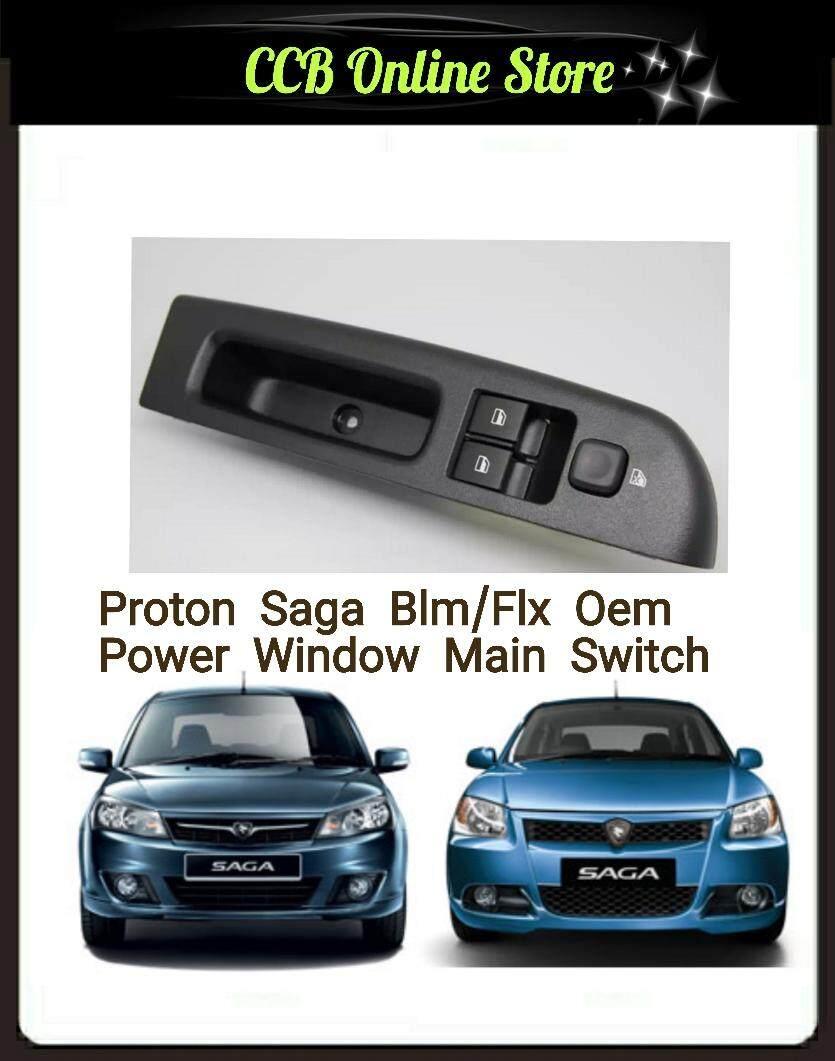 Oem Proton Saga Blm/flx Power Window Switch Main 2 Doors By Ccb Online.