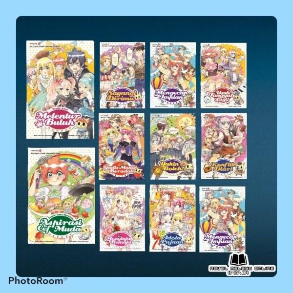 Koleksi Komik Siri Candy Jilid 11 - Jilid 20 [Ready Stock] Malaysia